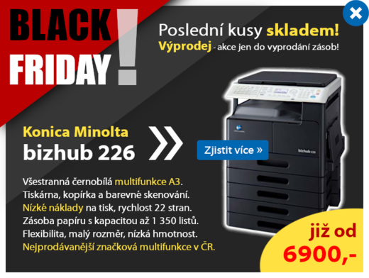 Konica Minolta - Black Friday